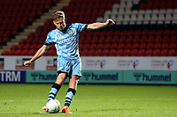 Dayle Grubb of Forest Green Rovers scores the second penalty for Rovers in the Shoot-out during Charlton Athletic vs Forest Green Rovers, Caraboa Cup Football at The Valley on 13th August 2019