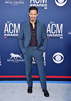 LAS VEGAS, CA - APRIL 07: Jay Hernandez attends the 54th Academy Of Country Music Awards at MGM Grand Hotel &amp; Casino on April 07, 2019 in Las Vegas, Nevada.<br /> CAP/ROT/TM<br /> &copy;TM/ROT/Capital Pictures