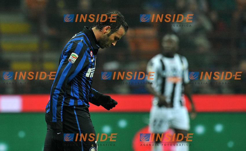 "Giampaolo PAZZINI (Inter).Milano 3/12/2011 Stadio ""Giuseppe Meazza"".Serie A 2011/2012.Football Calcio Inter Vs Udinese.Foto Insidefoto Alessandro Sabattini."