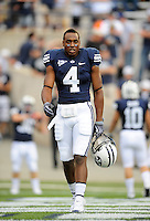 Sept. 19, 2009; Provo, UT, USA; BYU Cougars wide receiver (4) O'Neill Chambers against the Florida State Seminoles at LaVell Edwards Stadium. Florida State defeated BYU 54-28. Mandatory Credit: Mark J. Rebilas-