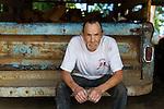 Portrait of Rick Goff in Yamhill, Oregon, USA