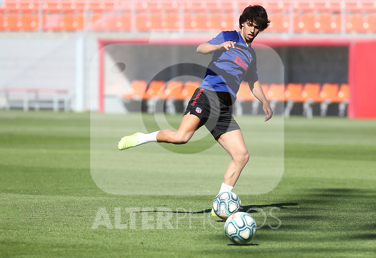 Atletico de Madrid's Joao Felix during training session. July 2,2020.(ALTERPHOTOS/Atletico de Madrid/Pool)