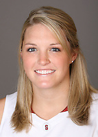 STANFORD, CA - OCTOBER 9:  Jayne Appel of the Stanford Cardinal women's basketball team poses for a headshot on October 9, 2008 in Stanford, California.