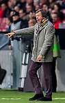 Head coach Yuri Semin (Yuri Syomin) of FC Lokomotiv Moscow reacts during the UEFA Europa League 2017-18 Round of 16 (1st leg) match between Atletico de Madrid and FC Lokomotiv Moscow at Wanda Metropolitano  on March 08 2018 in Madrid, Spain. Photo by Diego Souto / Power Sport Images
