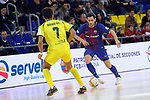 League LNFS 2017/2018 - Game 15.<br /> FC Barcelona Lassa vs Gran Canaria FS: 9-2.<br /> Nacho Gil vs Rafa Lopez.