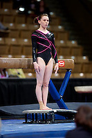 Photo by John Cheng for  USA Gymnastics.  Nastia Liukin Cup and Tyson American Cup take place at the DCU Center in Worcester, Mass on March 5th and 6th, 2010