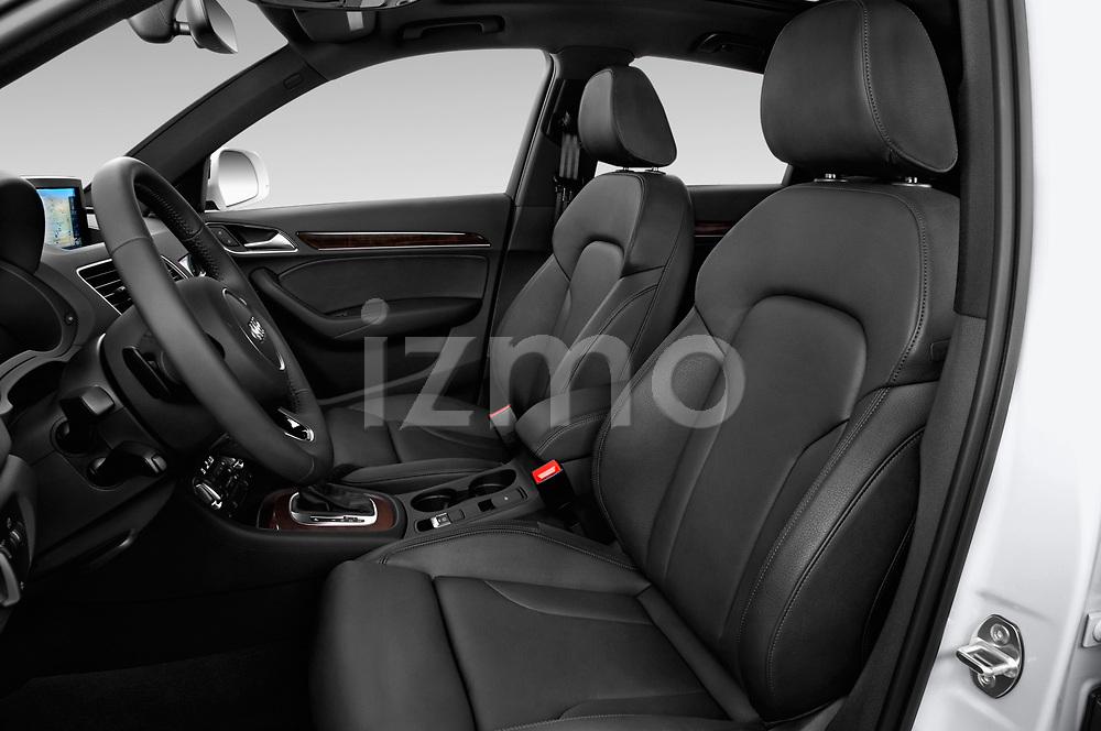 Front seat view of 2015 Audi Q3 Premium Plus 5 Door SUV front seat car photos