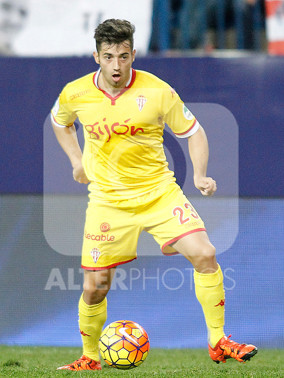 Sporting de Gijon's Jony Rodriguez during La Liga match. November 8,2015. (ALTERPHOTOS/Acero)
