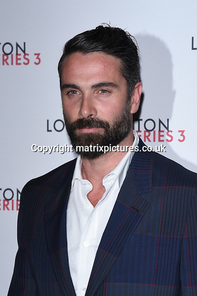 NON EXCLUSIVE PICTURE: MATRIXPICTURES.CO.UK<br /> PLEASE CREDIT ALL USES<br /> <br /> WORLD RIGHTS<br /> <br /> Italian actor Luca Calvani attending the Louis Vuitton Series 3 Exhibition launch party, in London. <br /> <br /> SEPTEMBER 20th 2015<br /> <br /> REF: SLI 152927