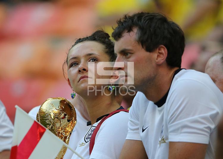 Dejected England Fans