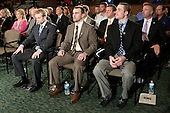 Spencer Abbott (Maine), Jack Connolly (UMD), Austin Smith (Colgate) - The 2012 Hobey Baker Award ceremony was held at MacDill Air Force Base on Friday, April 6, 2012, in Tampa, Florida.