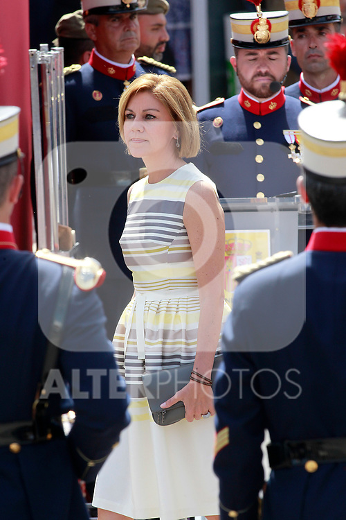 María Dolores de Cospedal Minister of Defense of Spain attends the Armed Forces Day. May 27 ,2017. (ALTERPHOTOS/Acero)