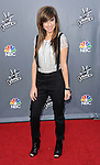 Christina Grimmie arriving at the 'The Voice Top 12 Artist of Season 6 Red Carpet Event' held at Universal Citywalk Los Angeles, CA. April 15, 2014.