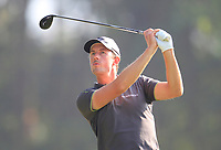 Alexander Bjork (SWE) on the 14th tee during Round 4 of the UBS Hong Kong Open, at Hong Kong golf club, Fanling, Hong Kong. 26/11/2017<br /> Picture: Golffile | Thos Caffrey<br /> <br /> <br /> All photo usage must carry mandatory copyright credit     (&copy; Golffile | Thos Caffrey)
