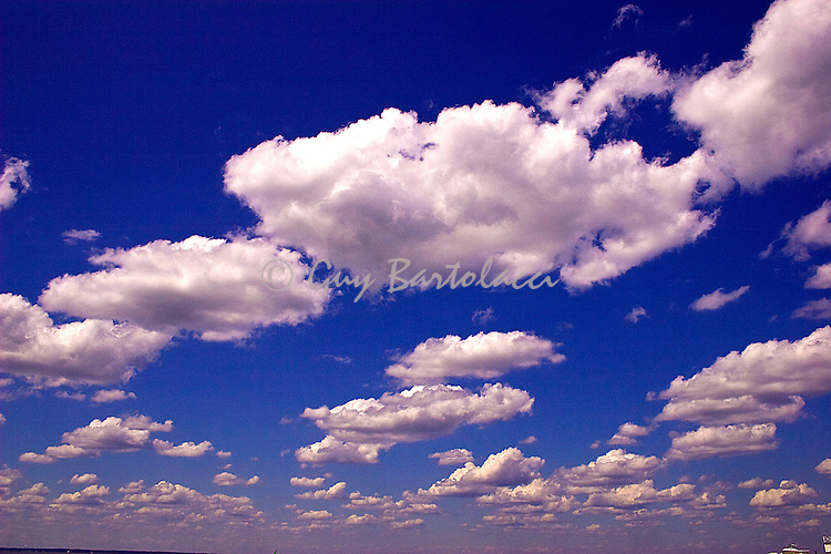 Clouds over LBI