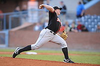 Matt Hobgood #48 Pitcher Delmarva Shorebirds (Orioles) May 1, 2010 Photo By Tony Farlow/ Four Seam Images