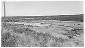 RGS grade site on west leg of loop near MP 127.  Bridge 127-A site is in trees at center.<br /> RGS  Menefee, CO  Taken by Maxwell, John W. - 8/16/1962