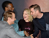 """LOS ANGELES, CA: 24, 2020: Michae Dorman, Aldis Hodge, Elisabeth Moss & Oliver Jackson-Cohen at the premiere of """"The Invisible Man"""" at the TCL Chinese Theatre.<br /> Picture: Paul Smith/Featureflash"""