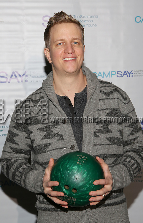 Jeremy Hays attends the 5th Annual Paul Rudd All-Star Bowling Benefit for (SAY) at Lucky Strike Lanes on February 13, 2017 in New York City.