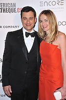 Jimmy Kimmel &amp; wife Molly McNearney at the 28th Annual American Cinematheque Award Gala honoring Matthew McConaughey at the Beverly Hilton Hotel.<br /> October 21, 2014  Beverly Hills, CA<br /> Picture: Paul Smith / Featureflash