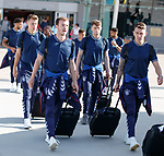 22.06.2019 Rangers arrive in Portugal: Andy Halliday and Ryan Jack