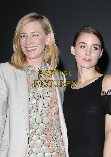 1 February 2014 - Santa Barbara, California - Cate Blanchett, Rooney Mara.  Cate Blanchett honoured with Outstanding performer of the year award, 29th Santa Barbara International Film Festval Held At The Arlington Theatre, Santa Barbara, California, USA. <br /> CAP/ADM/FS<br /> &copy;Faye Sadou/AdMedia/Capital Pictures