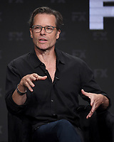 """BEVERLY HILLS - AUGUST 6: Cast Member Guy Pearce onstage during the """"A Christmas Carol"""" panel at the FX Networks portion of the Summer 2019 TCA Press Tour at the Beverly Hilton on August 6, 2019 in Los Angeles, California. (Photo by Frank Micelotta/FX Networks/PictureGroup)"""