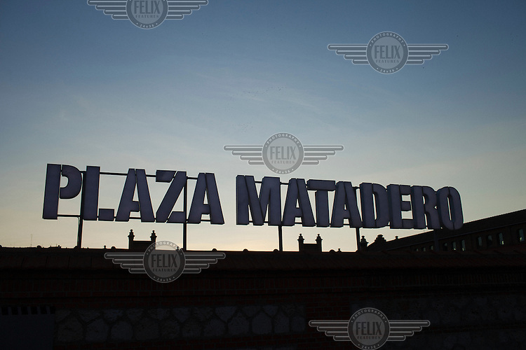 Plaza Matadero art centre in Madrid.