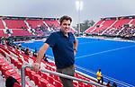 BHUBANESWAR (INDIA) - Jeroen Bijl (technisch directeur KNHB) bij het WK Hockey heren. COPYRIGHT KOEN SUYK