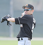 Ichiro Suzuki (Marlins),<br /> FEBRUARY 19, 2017 - MLB :<br /> Miami Marlins spring training baseball camp in Jupiter, Florida, United States. (Photo by AFLO)