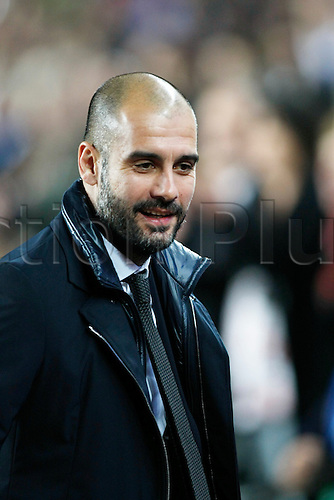 Josep Guardiola (Barcelona), DECEMBER 6, 2011 - Football / Soccer : UEFA Champions League Group H match between FC Barcelona 4-0 Bate Borisov at Camp Nou stadium in Barcelona, Spain.