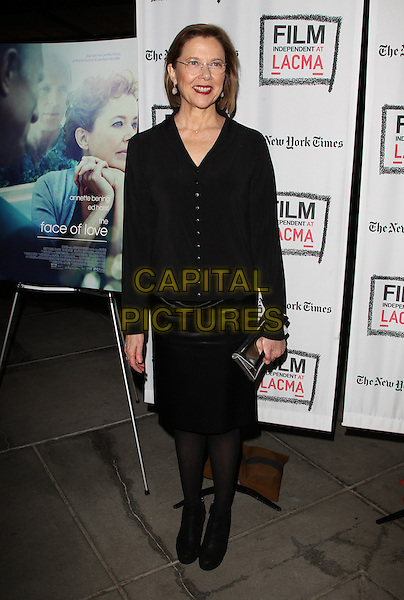 3 March 2014 - Los Angeles, California - Annette Bening. &ldquo;THE FACE OF LOVE&rdquo; Premiere Screening Held at LACMA. <br /> CAP/ADM/FS<br /> &copy;Faye Sadou/AdMedia/Capital Pictures