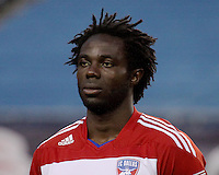 FC Dallas defender Ugo Ihemelu (3).  The New England Revolution drew FC Dallas 1-1, at Gillette Stadium on May 1, 2010