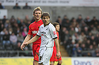 Pictured: Gorka Pintado of Swansea City in action <br /> Re: Coca Cola Championship, Swansea City Football Club v Watford at the Liberty Stadium, Swansea, south Wales 09 November 2008.<br /> Picture by Dimitrios Legakis Photography (Athena Picture Agency), Swansea, 07815441513