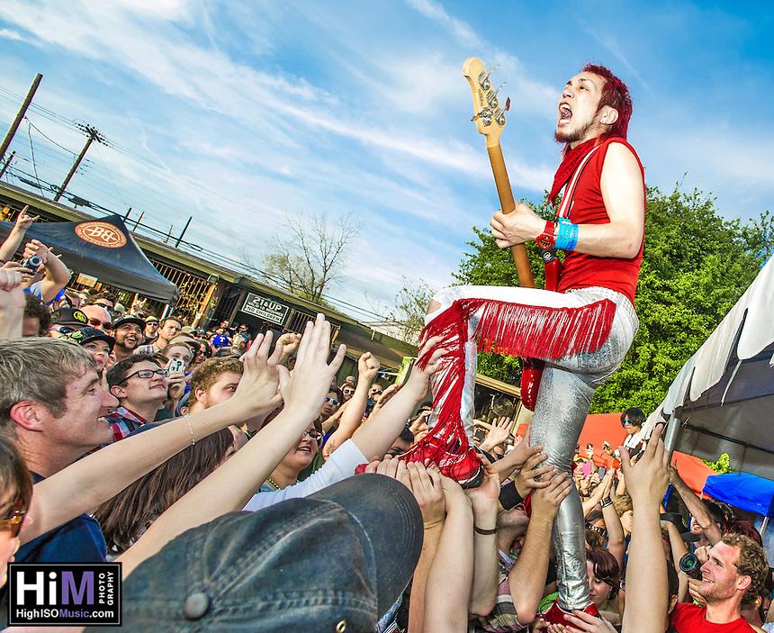 Peelander Z at SXSW 2012 in Austin, TX.