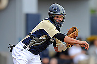 4 March 2012:  FIU catcher Aramis Garcia (24) throws to second as the FIU Golden Panthers defeated the Brown University Bears, 8-3, at University Park Stadium in Miami, Florida.