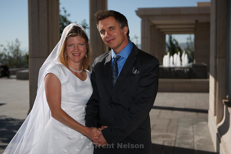 David Scott, Maddie Scott temple wedding in South Jordan, Utah, Saturday, September 3, 2011.
