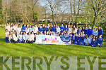 Students from St Brigids, Killarney who participated in the Easter Egg hunt in aid of Crumlin Children's hospital, Dublin in Killarney National Park last Thursday..