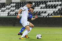 Pictured: Ben Cabango of Swansea. Tuesday 01 May 2018<br /> Re: Swansea U19 v Cardiff U19 FAW Youth Cup Final at the Liberty Stadium, Swansea, Wales, UK