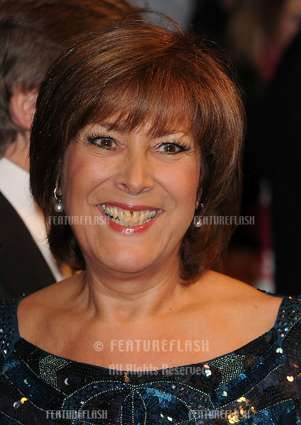 Linda Bellingham arriving at the National Television Awards 2010, at the O2, London. 20/01/2010  Picture by: Gerry Copper / Featureflash