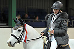 Class 4. Unaffiliated showjumping extravaganza. Brook Farm Training Centre. Essex. UK. 30/12/2018. ~ MANDATORY Credit Garry Bowden/Sportinpictures - NO UNAUTHORISED USE - 07837 394578