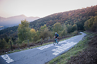 testing the infamous Muro di Sormano (avg 17%/max 25%) / cycling in Lombardia (Italy) <br /> <br /> autumn 2017