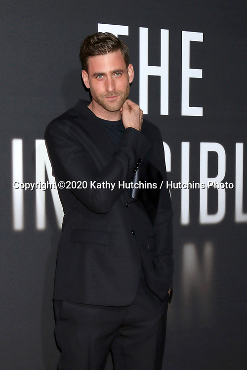 "LOS ANGELES - FEB 24:  Oliver Jackson-Cohe at the ""The Invisible Man"" Premiere at the TCL Chinese Theater IMAX on February 24, 2020 in Los Angeles, CA"