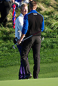 19.10.2014. The London Golf Club, Ash, England. The Volvo World Match Play Golf Championship.  Day 5 final matches.