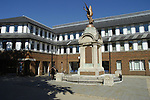 War memorial and civic offices, Basingstoke, Hampshire, England