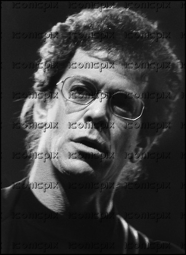 LOU REED - performing live at L:'Olympia in Paris France - 1989.  Photo Credit : Guy Ferrandis/Dalle/IconicPix