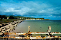 Golspie Beach and its old Pier, Golspie, Sutherland