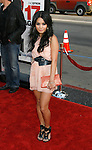 """HOLLYWOOD, CA. - April 14: Vanessa Hudgens arrives at the premiere of Warner Bros. """"17 Again"""" held at Grauman's Chinese Theatre on April 14, 2009 in Hollywood, California."""
