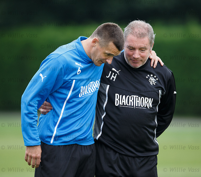 Lee McCulloch and Ally McCoist