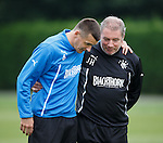 220813 Rangers training
